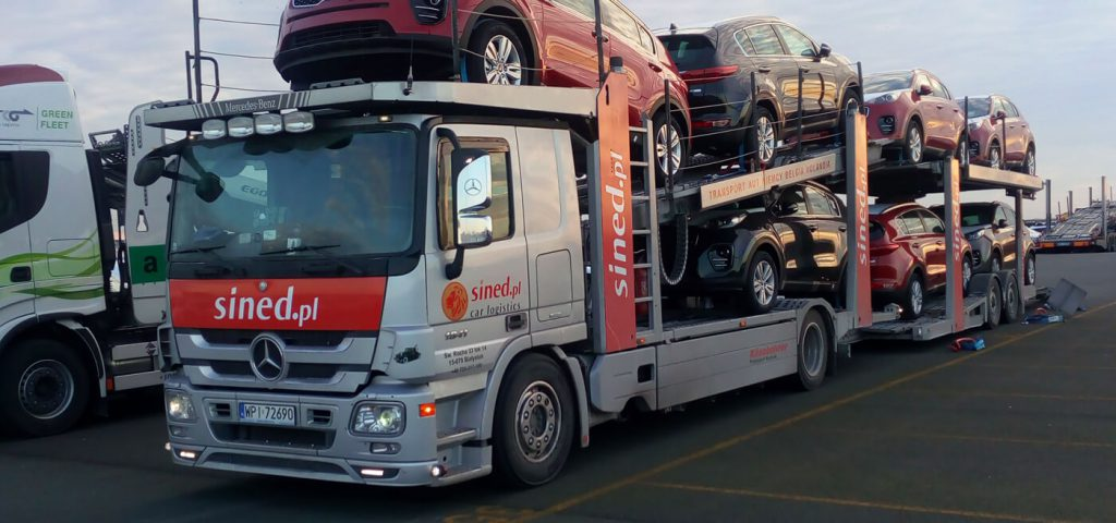 transport aut z niemiec lorą