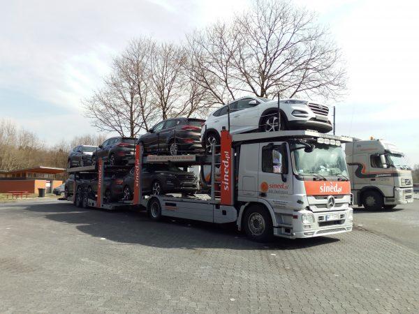 transport aut osobowych z zagranicy